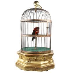 Small Crop Of Vintage Bird Cage