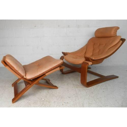 Medium Crop Of Leather Chair Mid Century