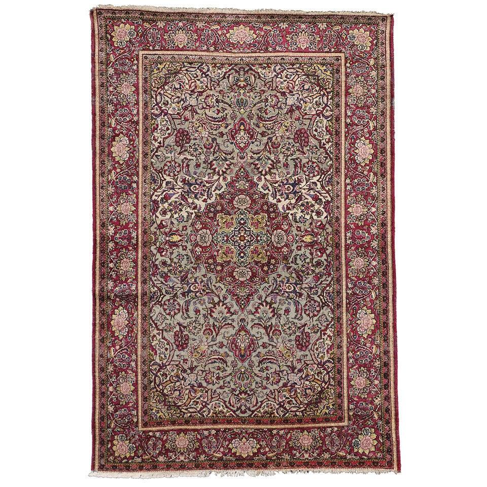 Enamour Colors Bright Jewel Tone Colors Jewel Tone Colors Late Silk Persian Kashan Colors Forsale Late Silk Persian Kashan houzz 01 Jewel Tone Colors