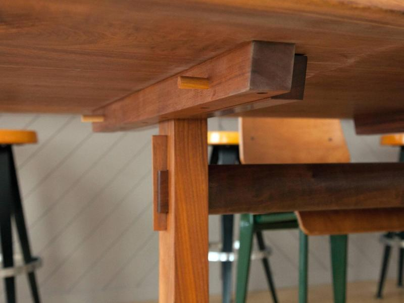 Large Of Trestle Dining Table