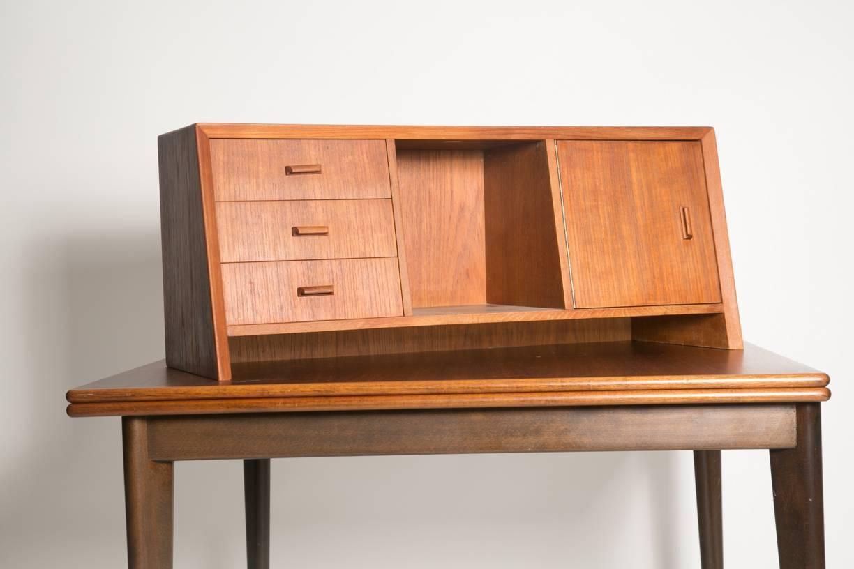 Cordial Hutch Hutch Wood Drawers Desk Danish Teak Secretary Desk Or Hutch Sale At Desk houzz-03 Desk With Hutch