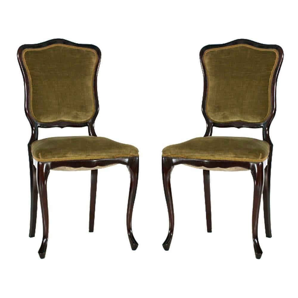 Endearing Pair French Art Nouveau Side Chairs Mahogany Map71 0 Master Art Nouveau Furniture Museum Art Nouveau Furniture Sale houzz-03 Art Nouveau Furniture