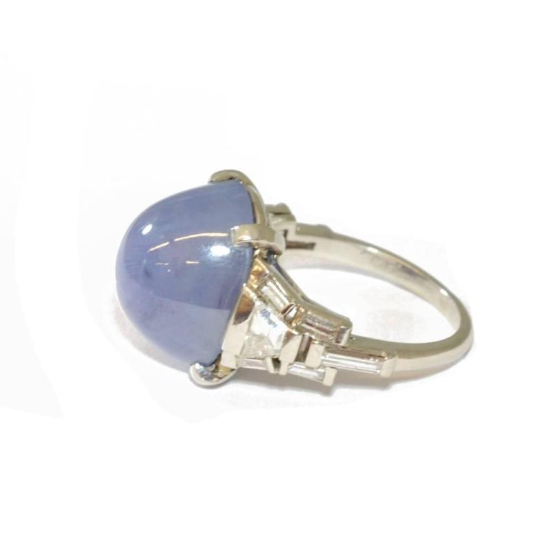 Large Of Star Sapphire Ring