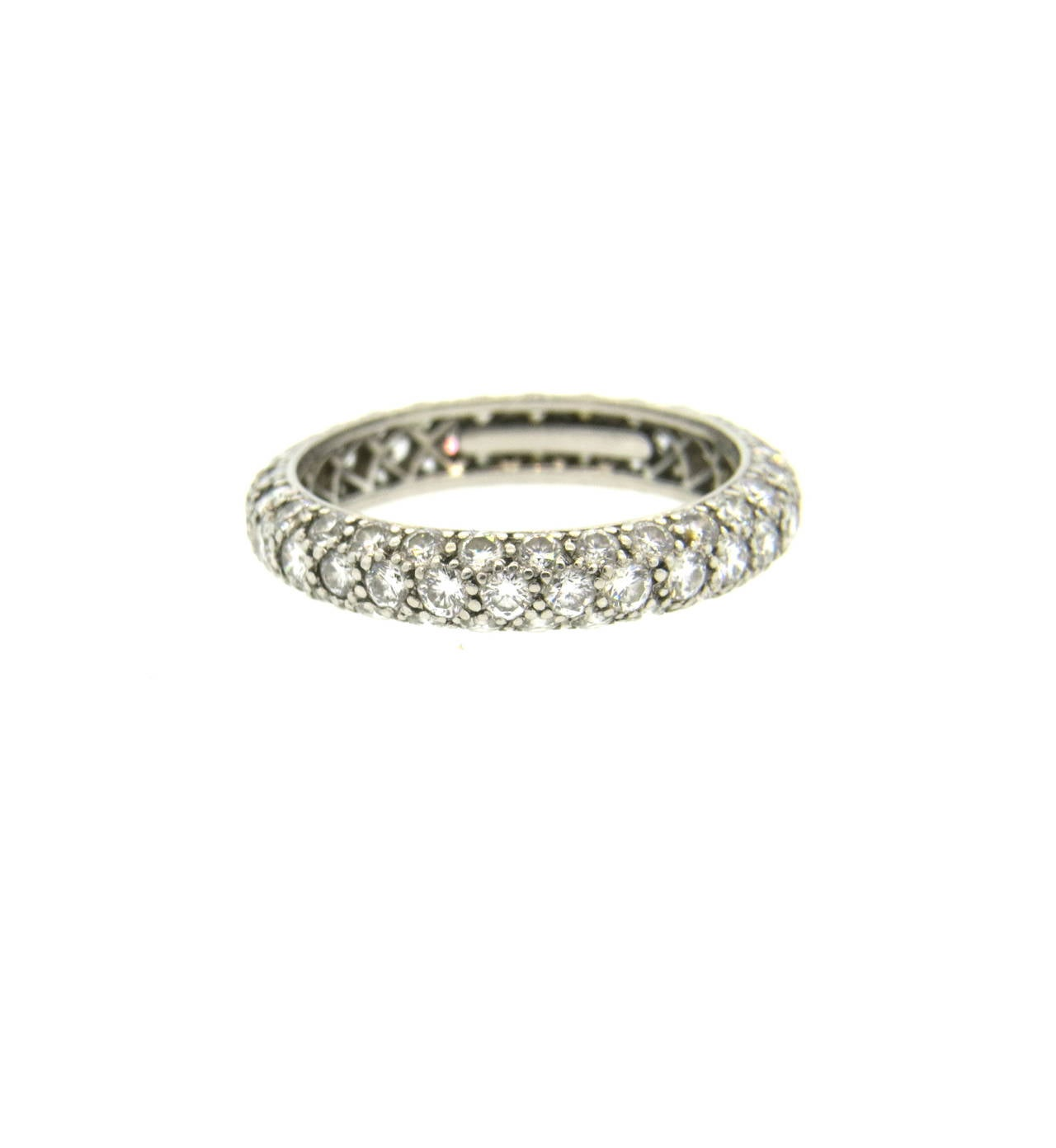 id j eternity wedding bands Etoile Platinum Diamond Eternity Wedding Band Ring 2