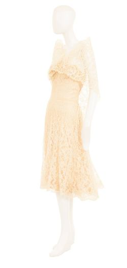 Small Of Ivory Lace Dress