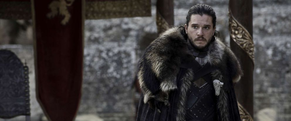 photo kit harington in a scene from game of thrones