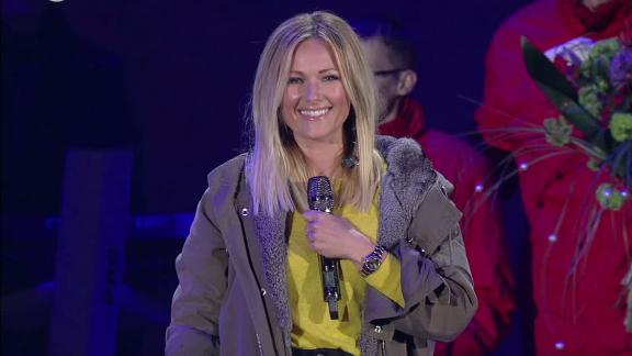 Helene Fischer returns to the stage at the 2017 Special Olympics     Captions Preview