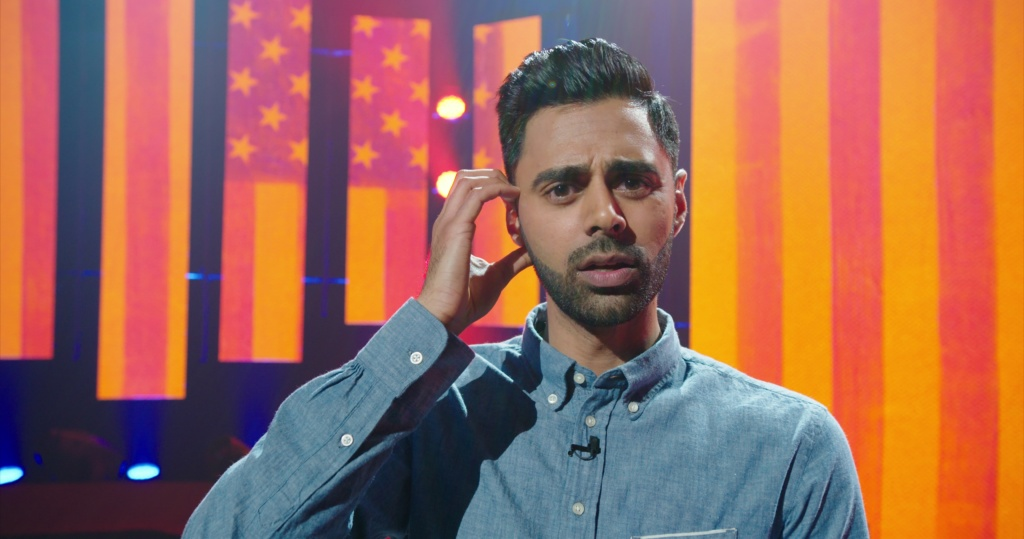The Frame       Audio  Hasan Minhaj on being an Indian American Muslim     Hasan Minhaj in his Netflix comedy special