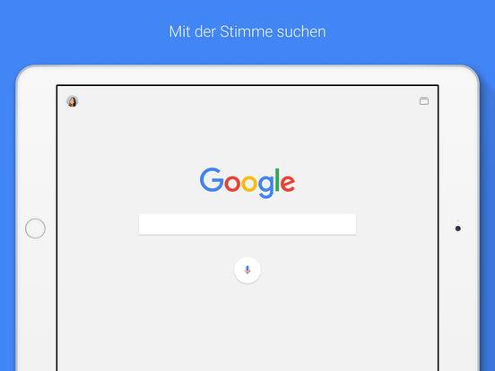 Google — die offizielle Suche-App Capture d'écran