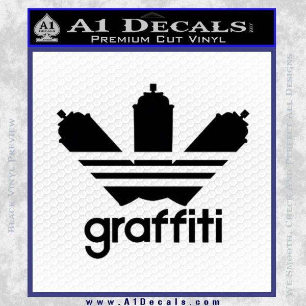 Adidas Graffiti D1 Decal Sticker » A1 Decals