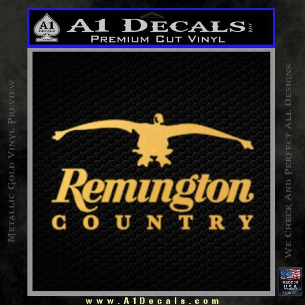 Remington Country Decal Sticker Duck » A1 Decals