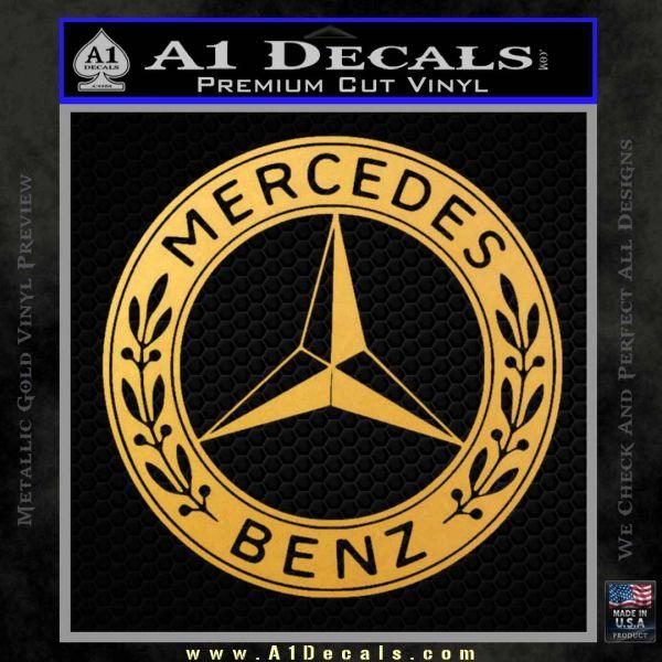 Mercedes benz c2 decal sticker a1 decals for Mercedes benz decal