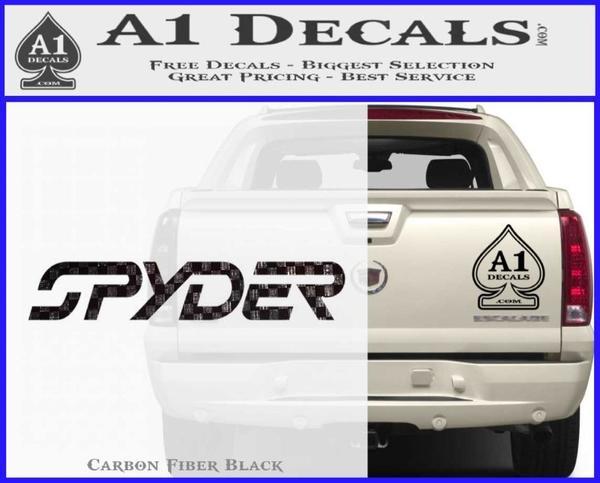 Spyder Ski Decal Sticker Wide 187 A1 Decals