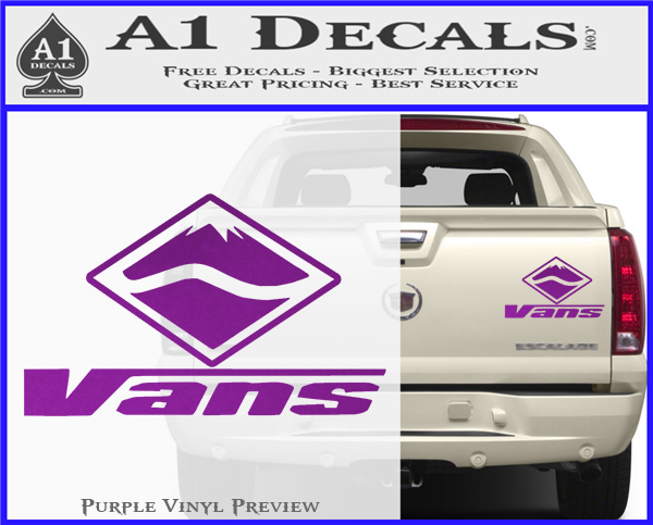 vans logo rdz decal sticker 187 a1 decals
