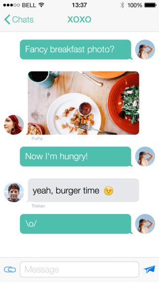 Hoccer – the secure Messenger Screenshot