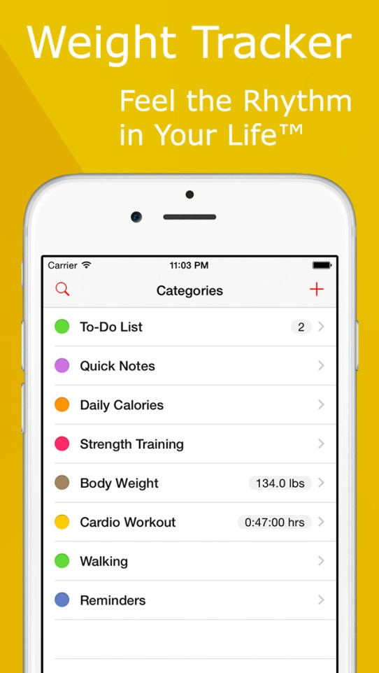 Lumen Trails Weight Tracker+ Daily Calorie Counter, Diet & Exercise Journal iPhone