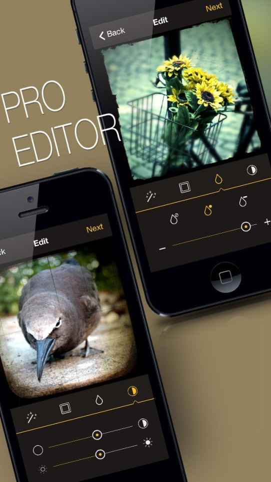 Reflex - Vintage Camera and Photo Editor for Instagram iPhone