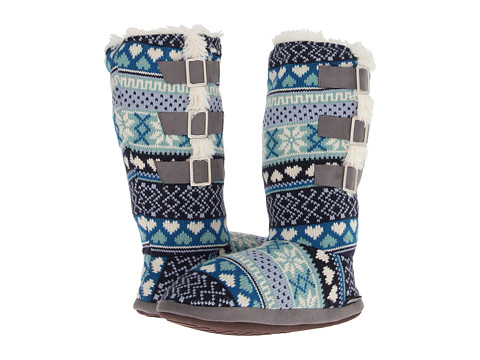 Muk Luks Buckle Slipper Boots