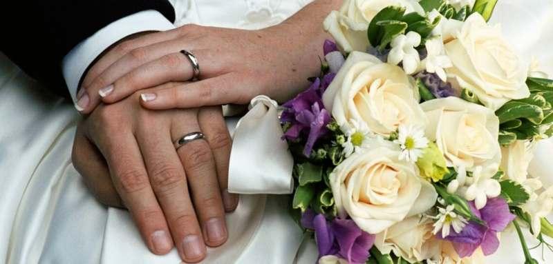 Large Of Matching Wedding Rings