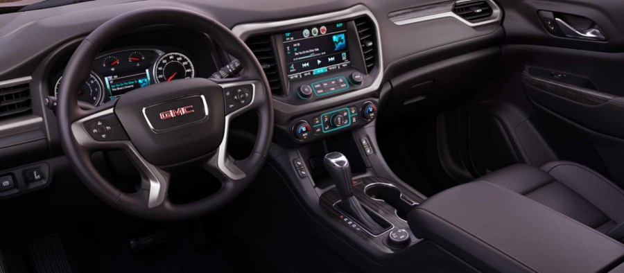 2017 GMC Acadia Leasing near Austin  TX   Nyle Maxwell Family of     GMC Acadia Interior
