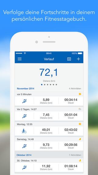 Runtastic PRO GPS Laufen, Walken, Joggen, Fitness & Marathon Training Screenshot