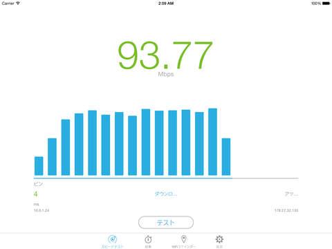 Speedtest.pro Speed Test & WiFi Finder - スピードテスト Screenshot