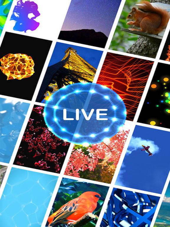 Themeable & Theme ™ - Live Wallpaper for iLive pix Screenshot