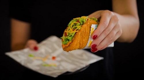 Medium Of Taco Bell Chalupa Box
