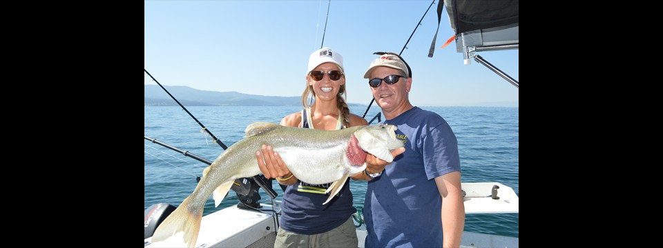 Flathead lake fishing charters and more for Wow fishing guide