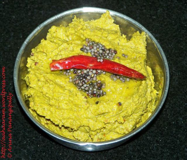 Beerakaya Pachadi (Ridge Gourd/Turai Chutney) – 1