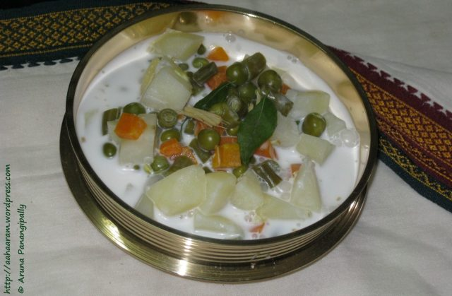 "Kerala Style Stew Or ""ishtew"" (vegetables In Coconut Milk)"