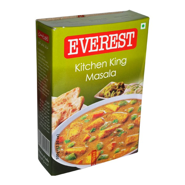 mutter paneer recipe from everest kitchen king masala