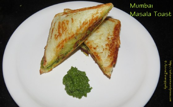 Masala Toast – Mumbai Street Food