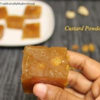 Custard Powder Halwa by Vidya Srinivasan of Traditionally Modern Food
