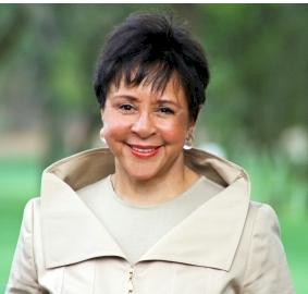 Entrepreneur and philanthropist Sheila Crump Johnson