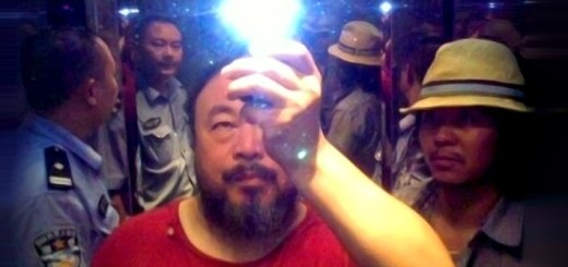 Ai Weiwei being arrested for his art activism and human rights work in China. (For-Site Foundation photo)