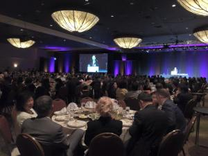 More than 1,200 people celebrated the 32nd anniversary of Advancing Justice-LA at its gala dinner Thursday at the Westin Bonaventure Hotel in downtown Los Angeles.