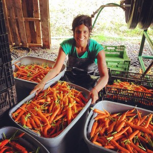 Anita Adalja, a social worker by training, merged her career with farming to help her local community come up with healthy food access solutions. (USDA photo)
