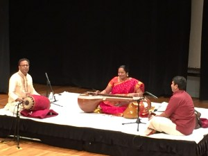Carnatic musicians perform during the preview opening of the Beyond Bollywood: Indian Americans Shape the Nation exhibit at the Minnesota History Center through July 10, 2016.