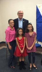 U.S. Rep. Kevin Cramer (R-N.D.) with Filipino-American citizens in North Dakota on Saturday, Aug. 27, 2016.