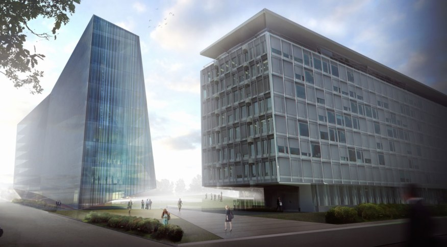 Expansion of the headquarters of the World Health Organization