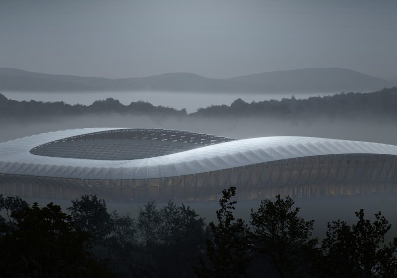 new football stadium in Stroud