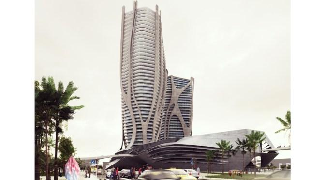 Genesis Tower by Taras Kashko + Jawad Al Tamimi
