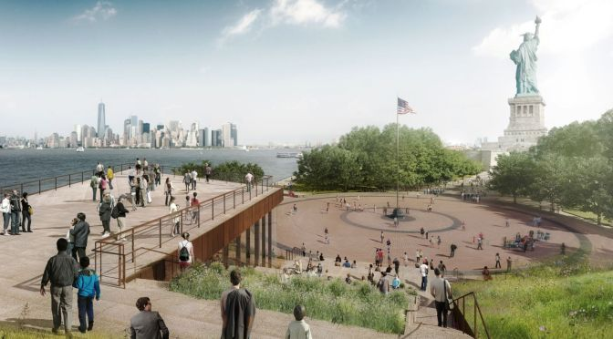 New Statue of Liberty Museum Design Unveiled by FXFOWLE