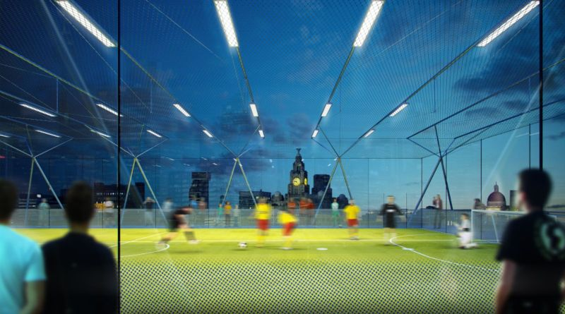 new concept for stackable football pitches