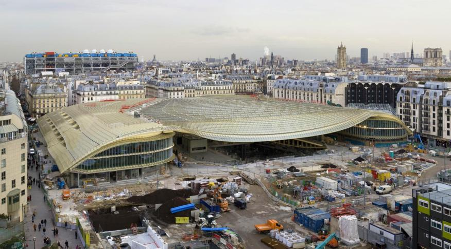 Redevelopment of Les Halles Station