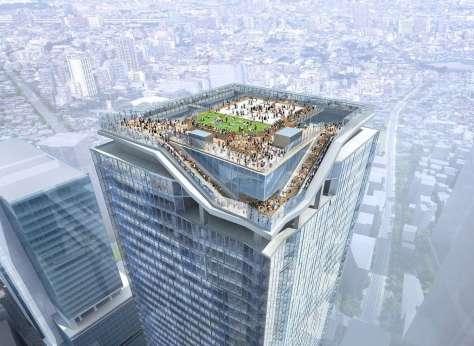 Observation Facilities atop Shibuya Station