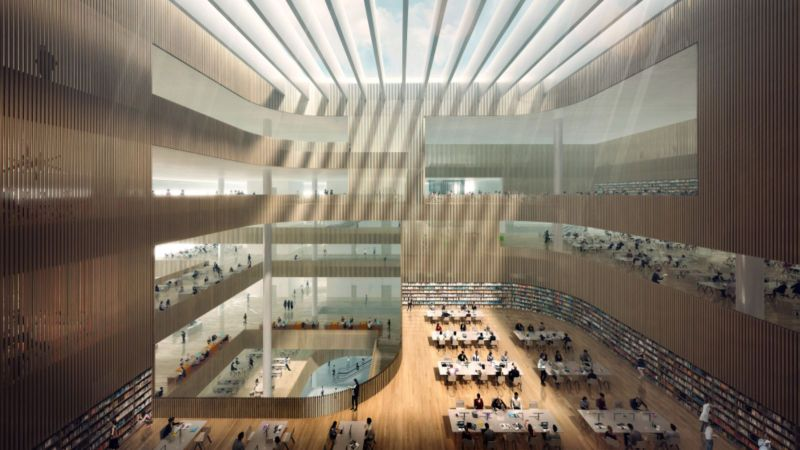 new Shanghai Library