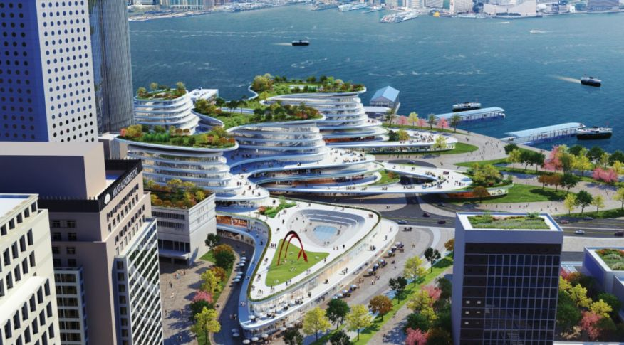 New Central Harbourfront Site 3