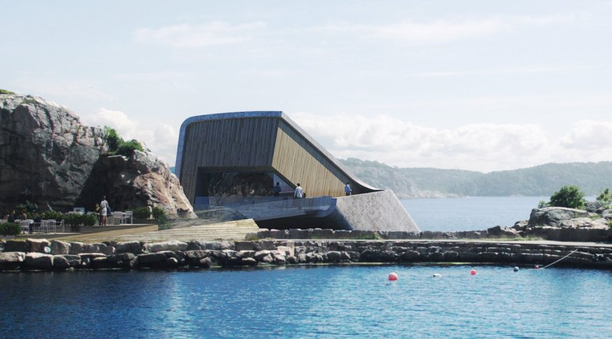 Under Europe's First Underwater Restaurant